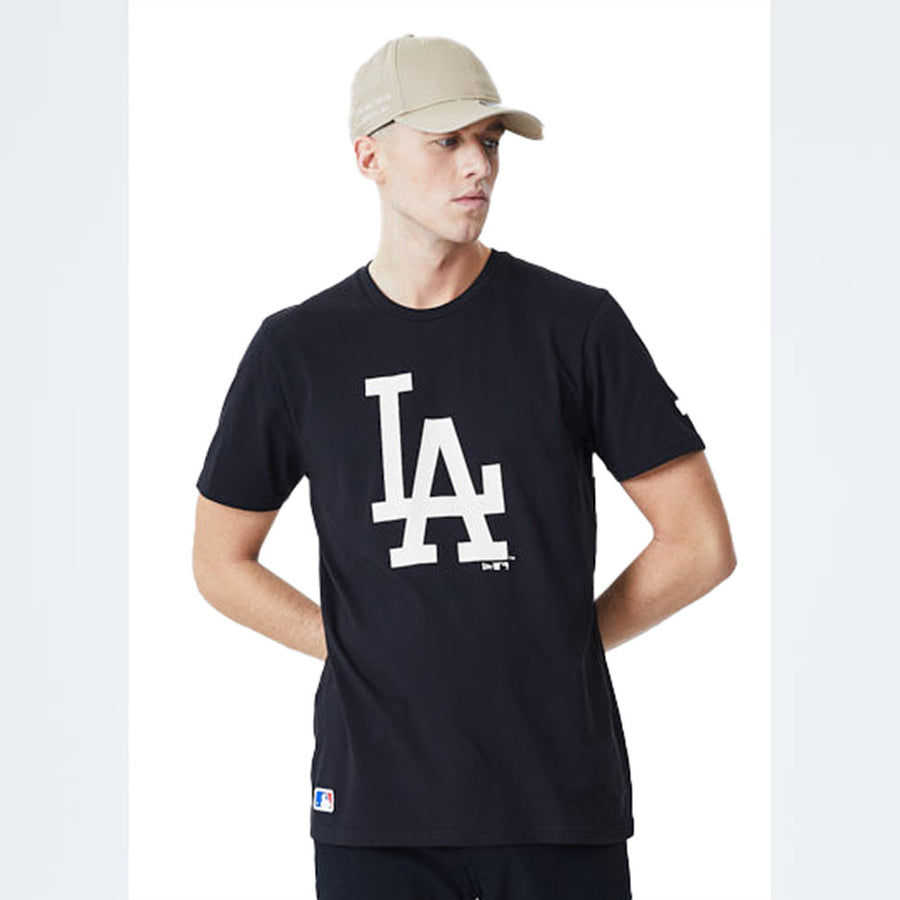 Los Angeles Dodgers MLB Seasonal Team Logo Black Tee