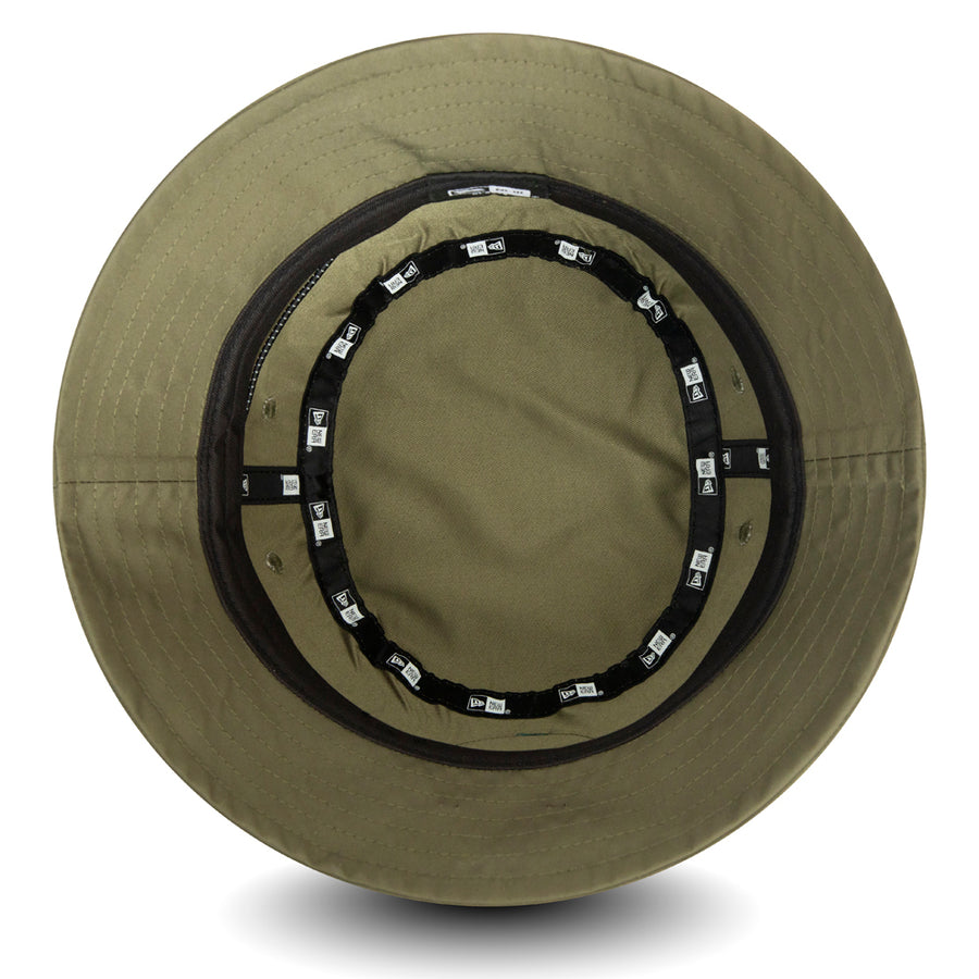 New Era Bucket Outdoors Olive Cap