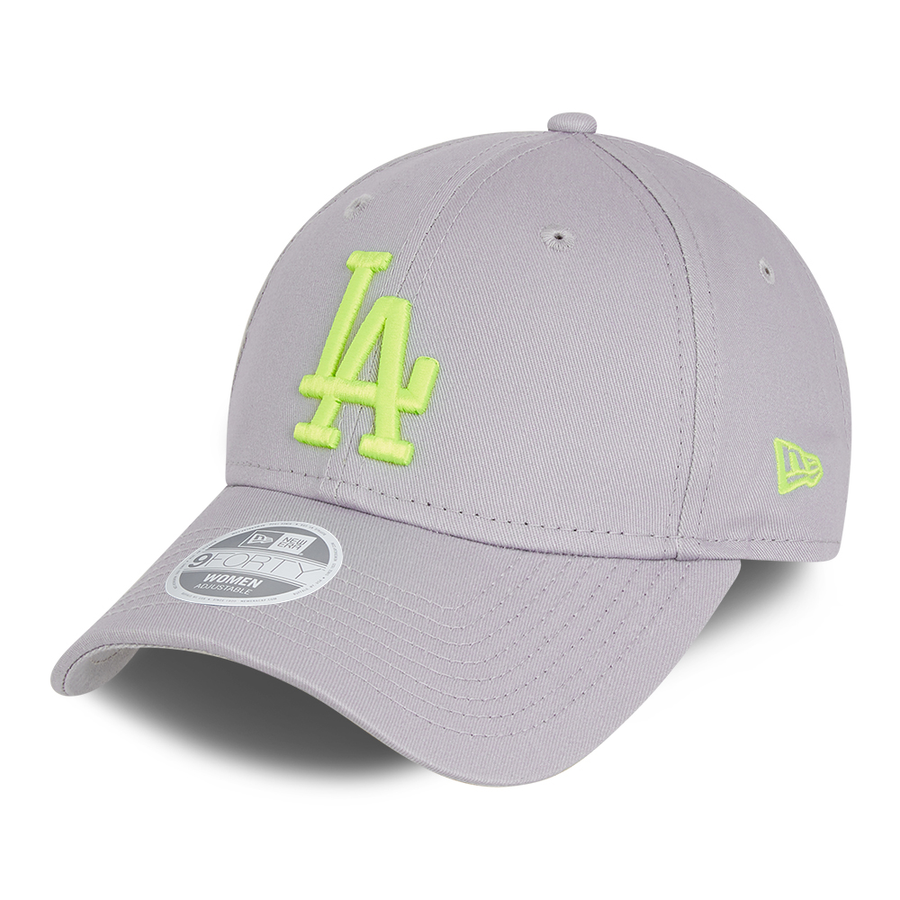 Los Angeles Dodgers 9Forty Womens League Essential Grey/Green Cap