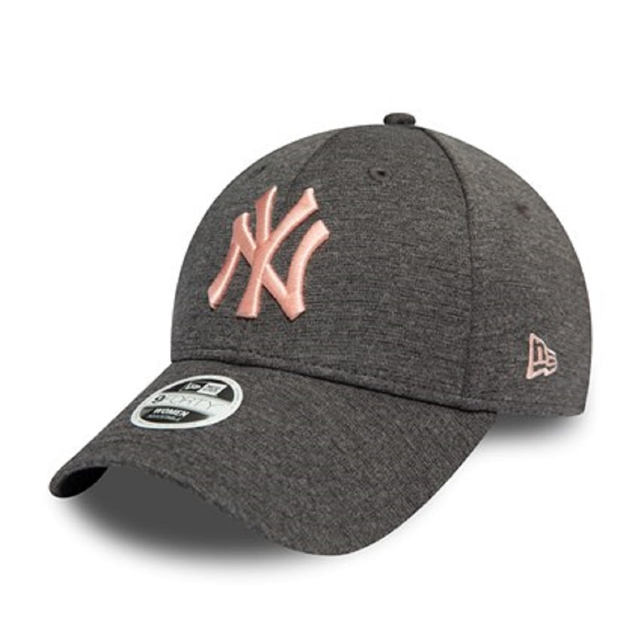 New York Yankees 9Forty Womens Tech Jersey Grey/Pink Cap