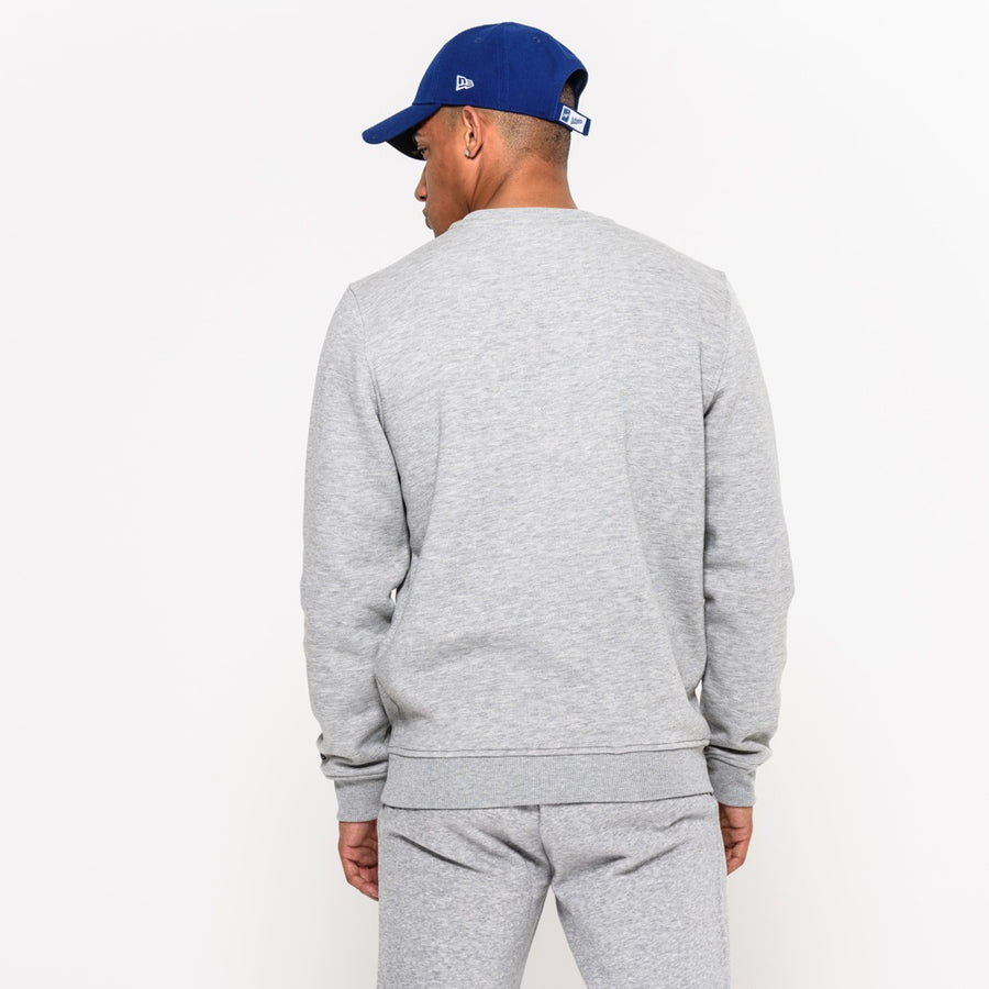 Los Angeles Dodgers MLB Crew Grey Sweater