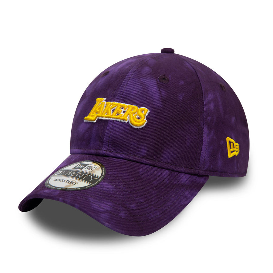 Los Angeles Lakers 9Twenty Team Tie Dye Purple Cap