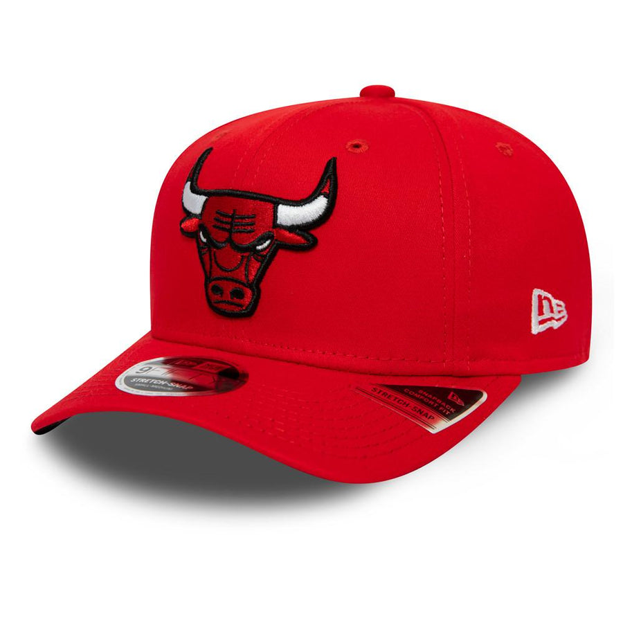 Chicago Bulls 9Fifty Team Stretch Snap Scarlet Cap