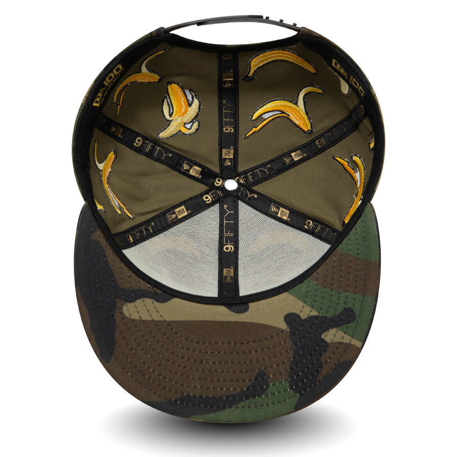 New Era 9Fifty 100 Anniversary Camo Aop Banana Camo/White Cap