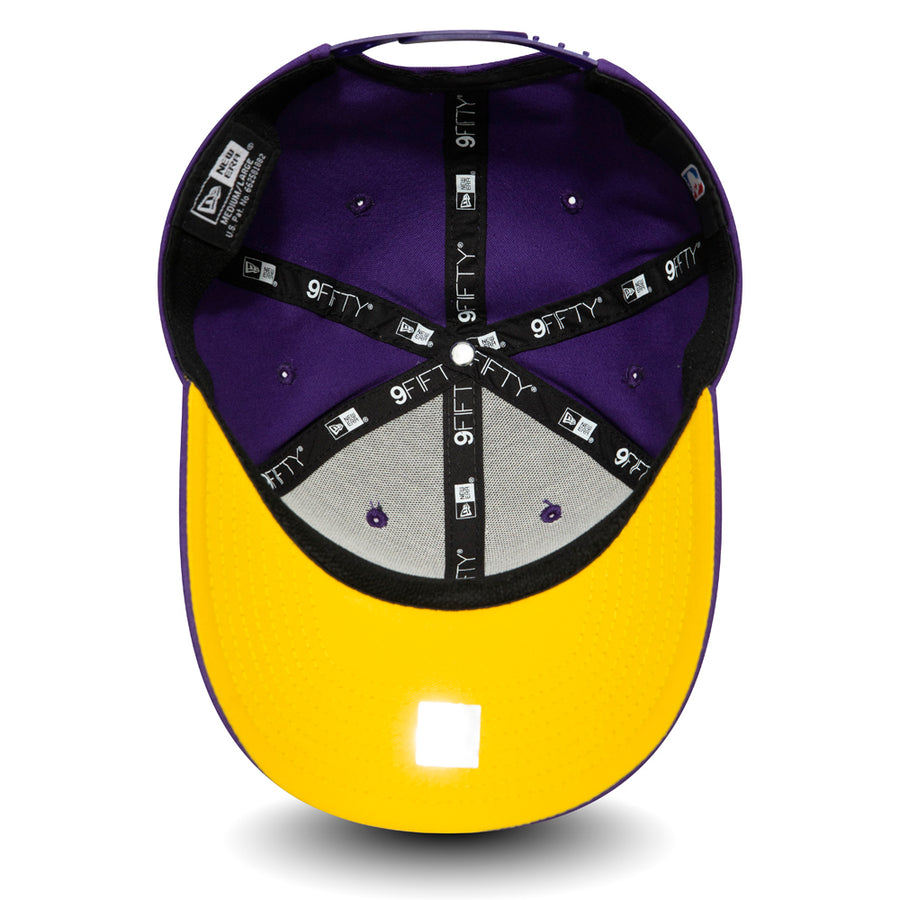 Los Angeles Lakers 9Fifty Team Stretch Snap Purple Cap
