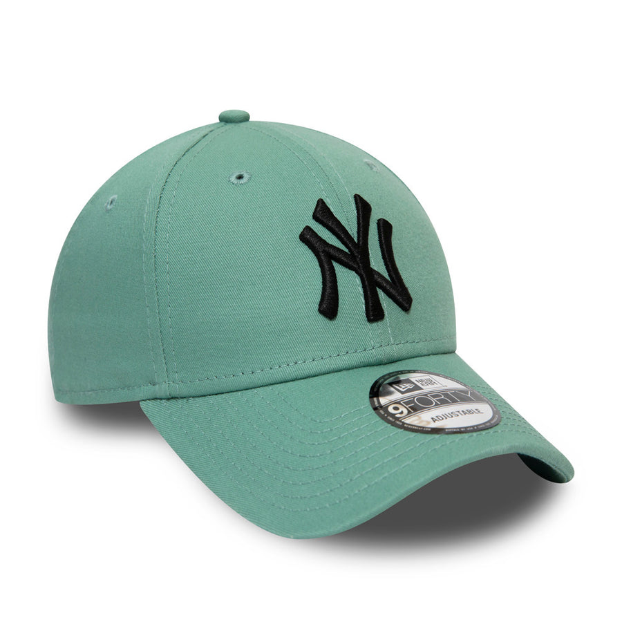 New York Yankees 9Forty League Essential Teal Cap