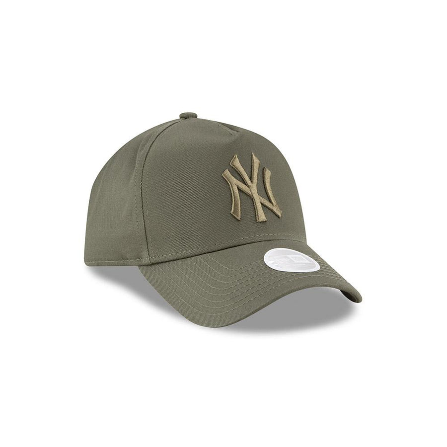 New York Yankees Trucker Womens League Essential Olive Cap