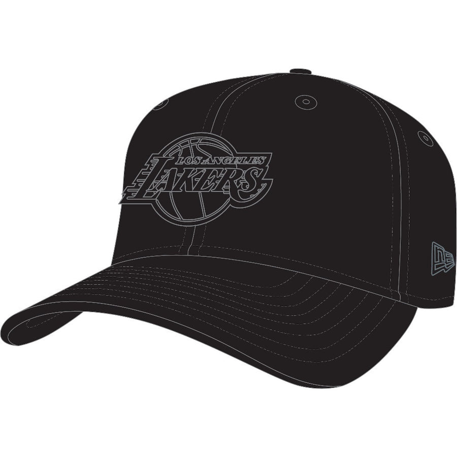 Los Angeles Lakers 9Fifty Stretch Snap Tonal Black Cap