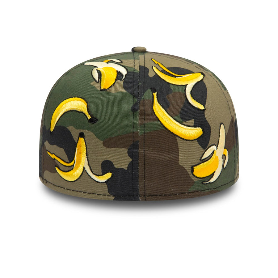 New Era 59Fifty 100 Anniversary Camo Aop Banana Camo/White Cap