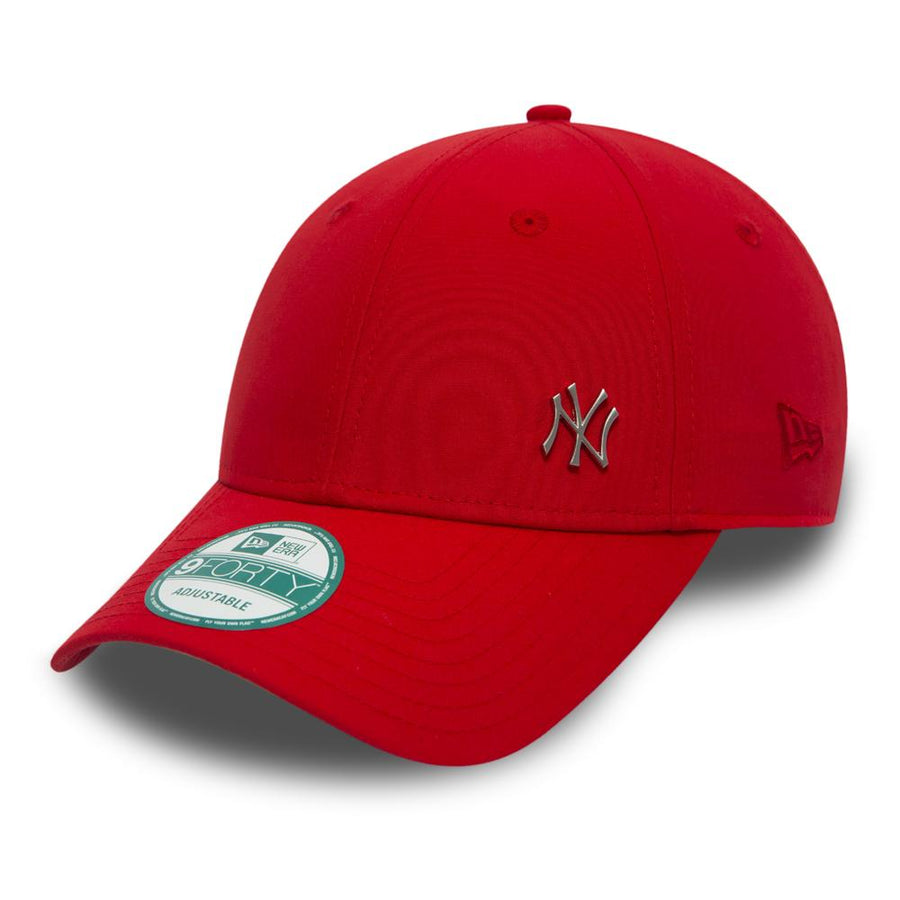New York Yankees 9Forty MLB Flawless Logo Scarlet Cap