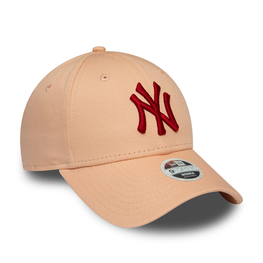 New York Yankees 9Forty Womens League Essential Pink Cap