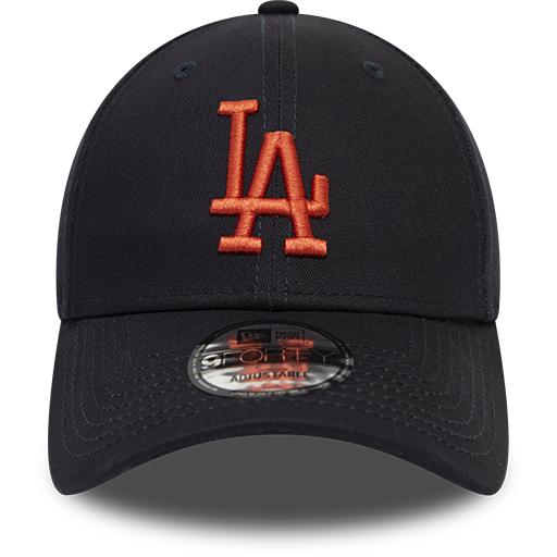 Los Angeles Dodgers 9Forty Kids League Essential Navy/Orange Cap