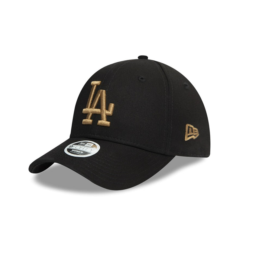 Los Angeles Dodgers 9Forty Womens Colour Essential Black/Gold Cap