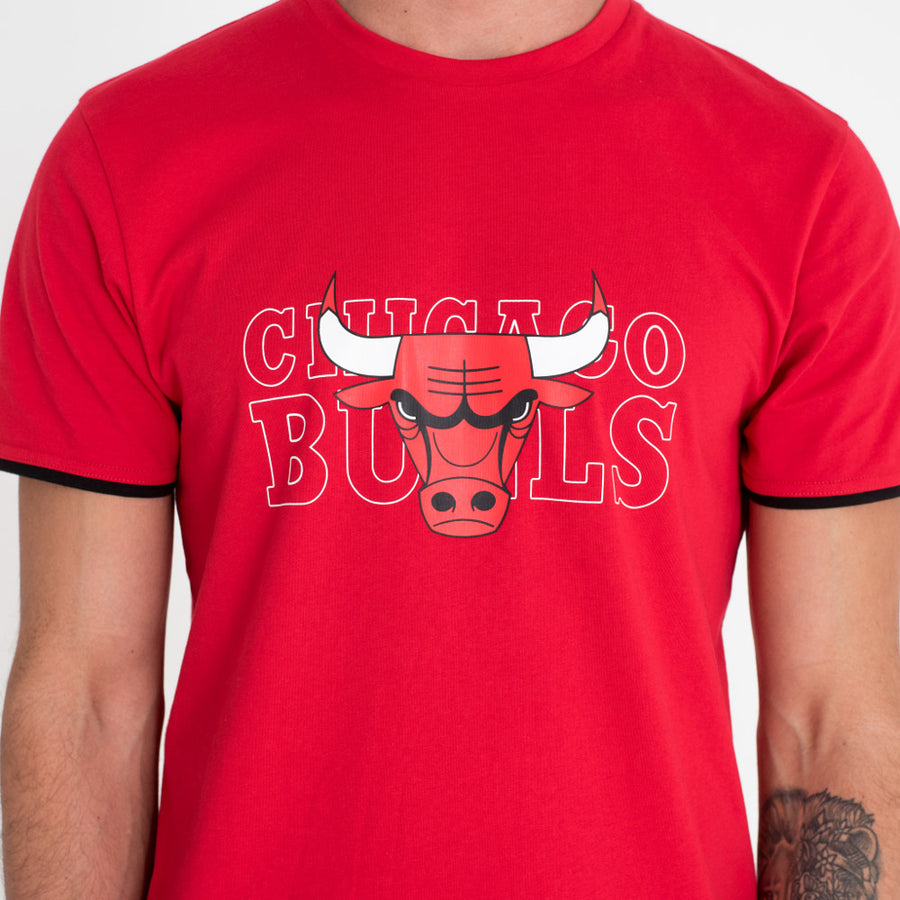 Chicago Bulls NBA Graphic Black Tee
