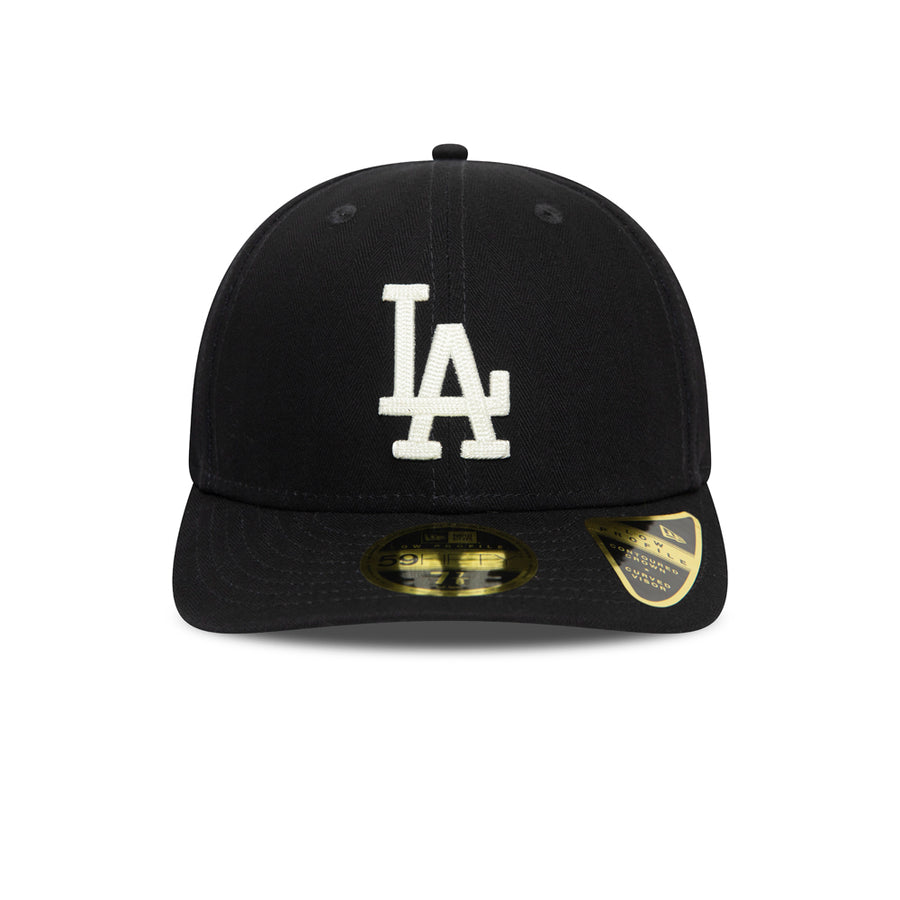 Los Angeles Dodgers 59Fifty Cooperstown Low Profile Navy/White Cap