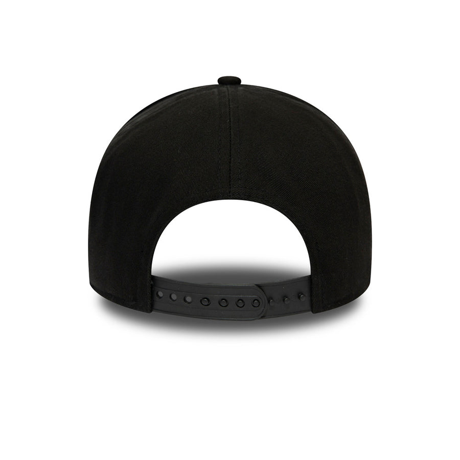 Chicago Bulls Trucker Team Washed Black Cap