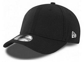New Era 39Thirty Flag Collection Black/White Cap