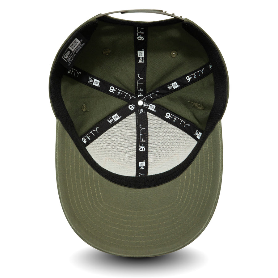 New Era 9Fifty Stretch Snap Outdoors Olive Cap