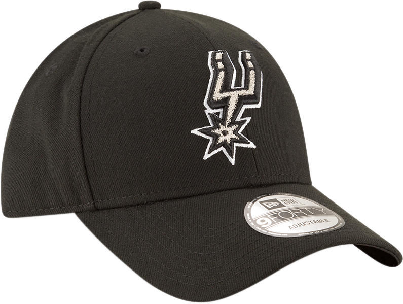 San Antonio Spurs 9Forty NBA The League Black/White Cap