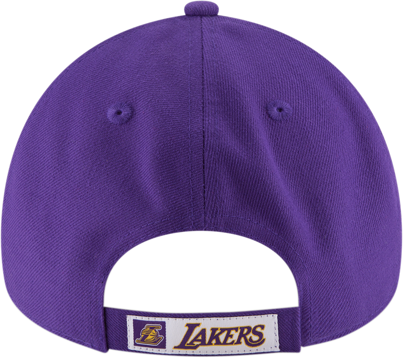Los Angeles Lakers 9Forty The League Purple/Yellow Cap
