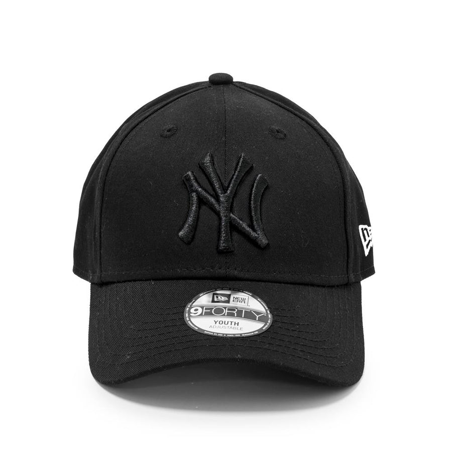 New York Yankees 9Forty Kids League Essential Black/Black Cap