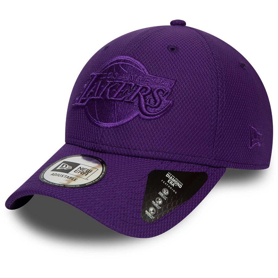 Los Angeles Lakers 9Forty Mono Team Colour Purple Cap