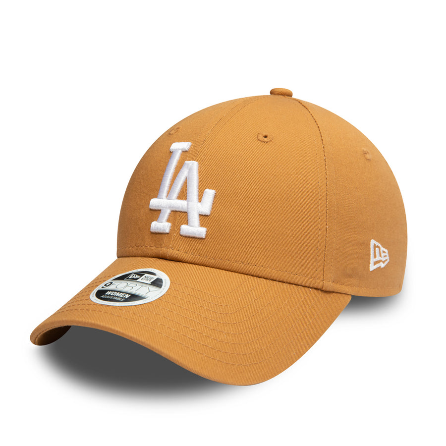 Los Angeles Dodgers 9Forty Womens Colour Essential Wheat/White Cap