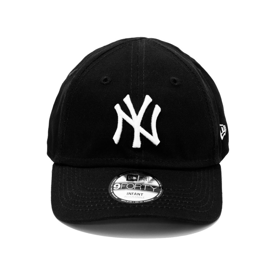 New York Yankees 9Forty Kids League Essential Black/White Cap