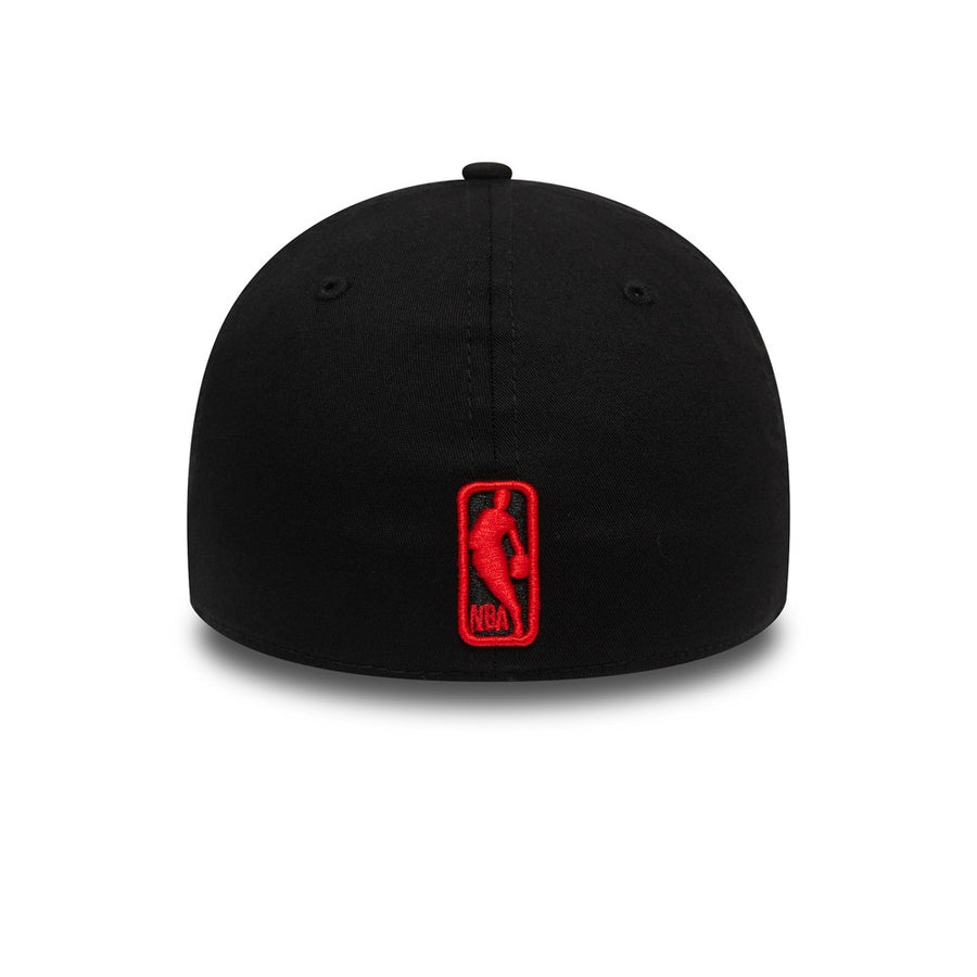 Chicago Bulls 39Thirty Tonal Black/Red Cap