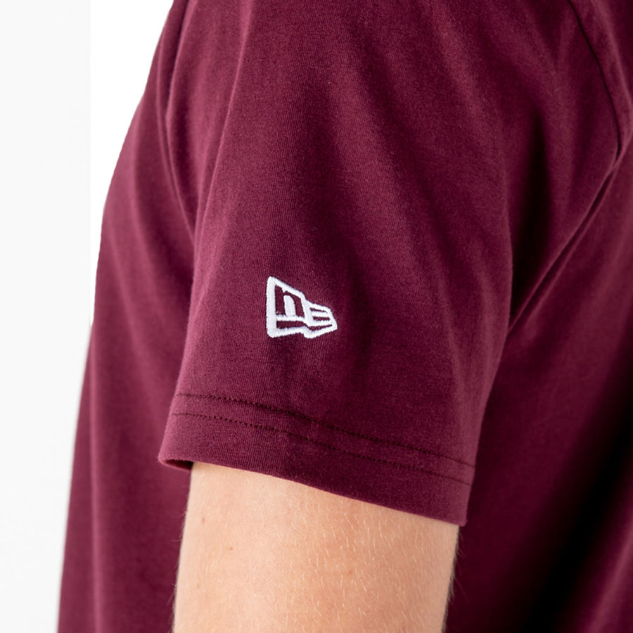 Los Angeles Dodgers MLB Seasonal Team Logo Maroon Tee
