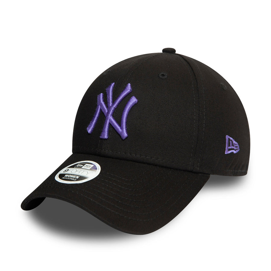 New York Yankees 9Forty Womens League Essential Black Cap