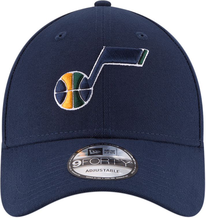 Utah Jazz 9Forty NBA The League Navy/Yellow Cap
