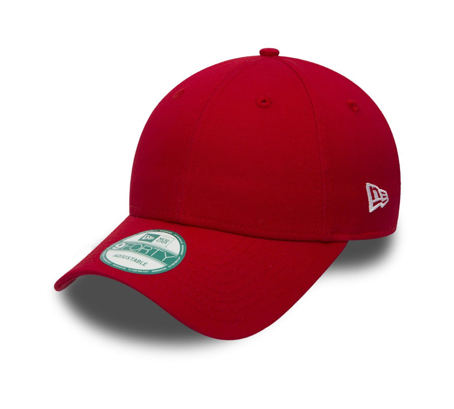 New Era 9Forty Flag Collection Scarlet/White Cap