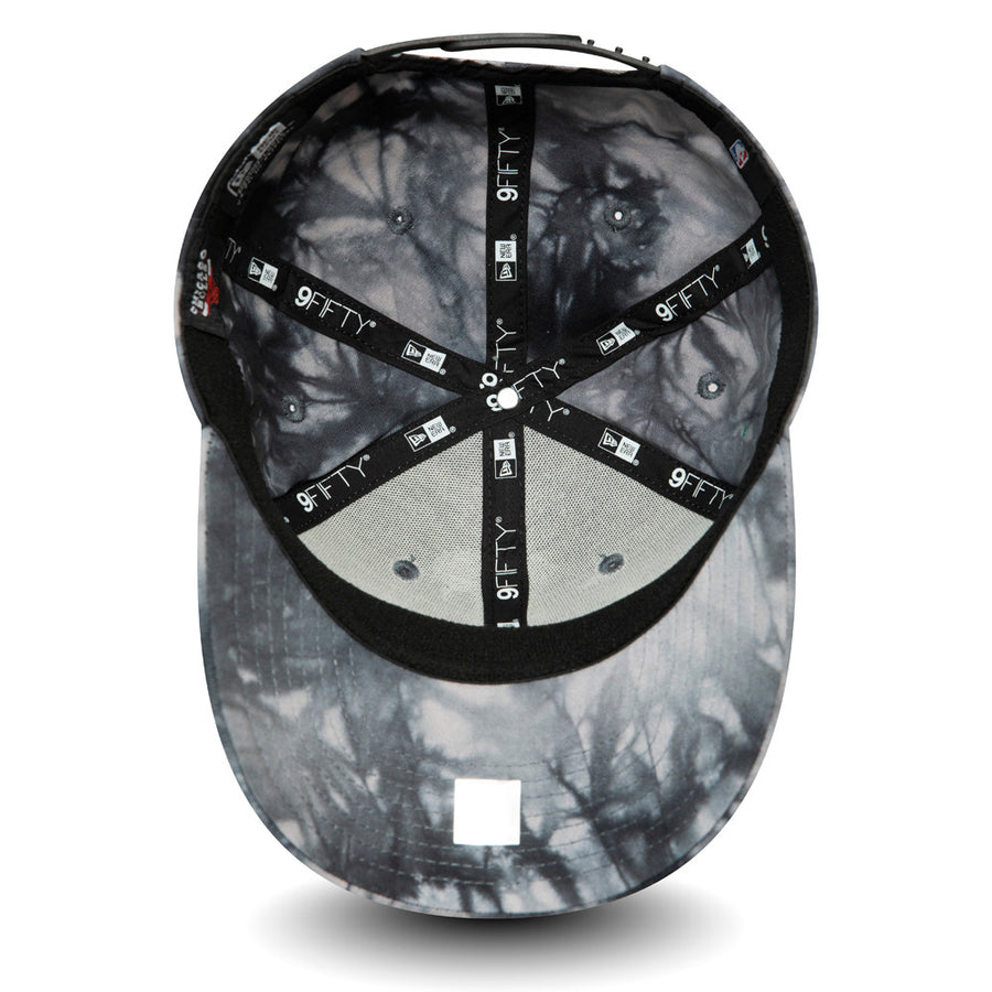 Chicago Bulls 9Fifty Team Tie Dye Stretch Snap Black Cap