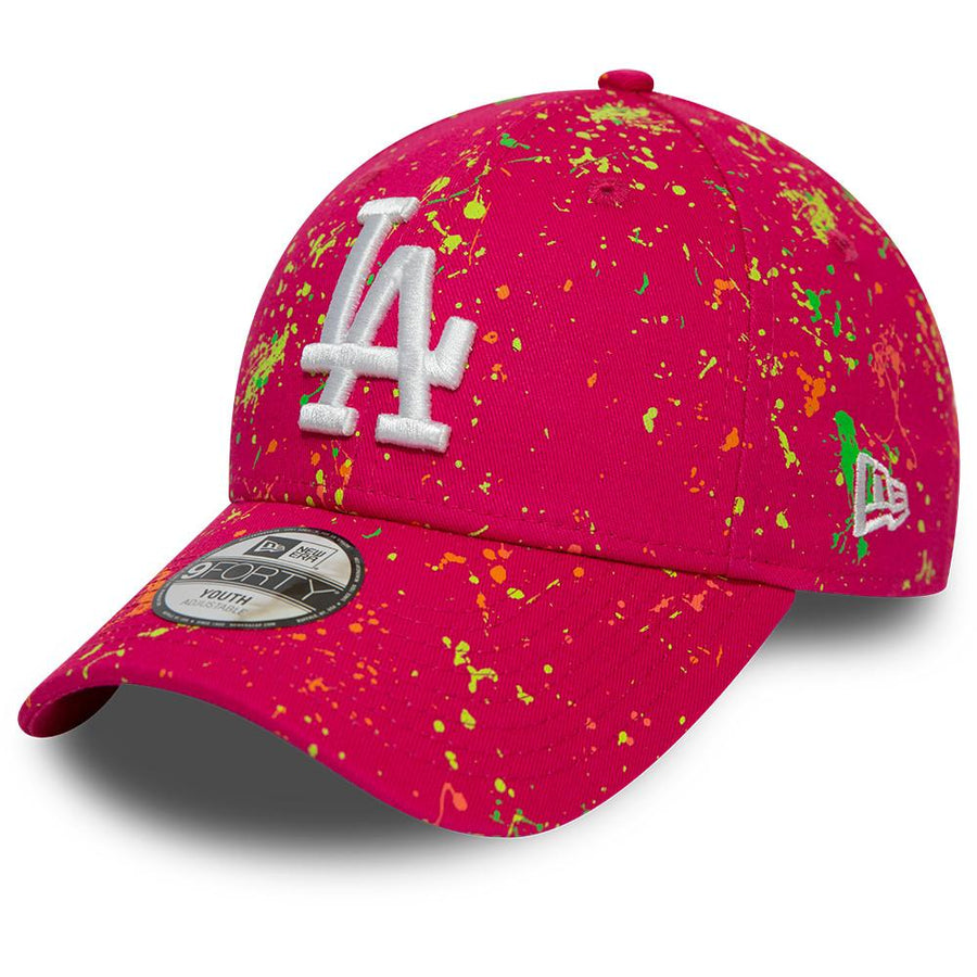 Los Angeles Dodgers 9Forty Kids Paint Pack Pink Cap
