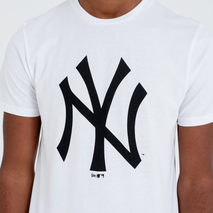 New York Yankees MLB White/Black Tee