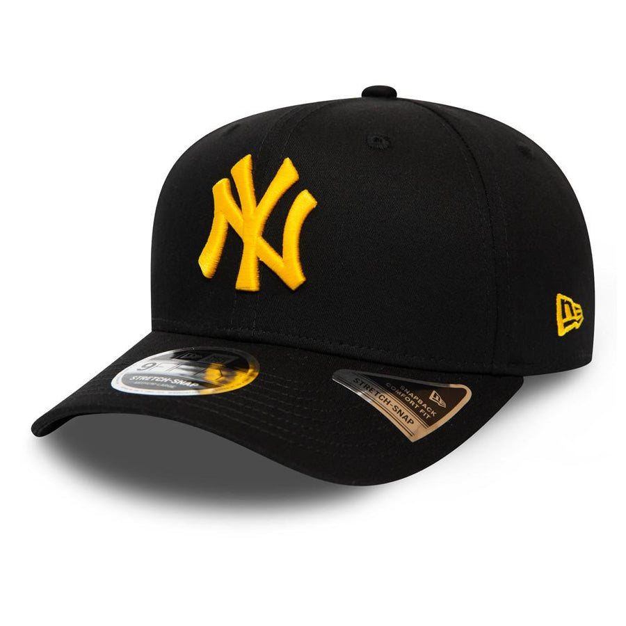 New York Yankees 9Fifty Stretch Snap Black/Yellow Cap