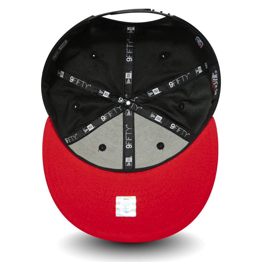 Chicago Bulls 9Fifty Team Hook Black/Red Cap