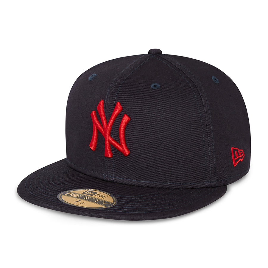 New York Yankees 59Fifty League Essential Navy/Red Cap