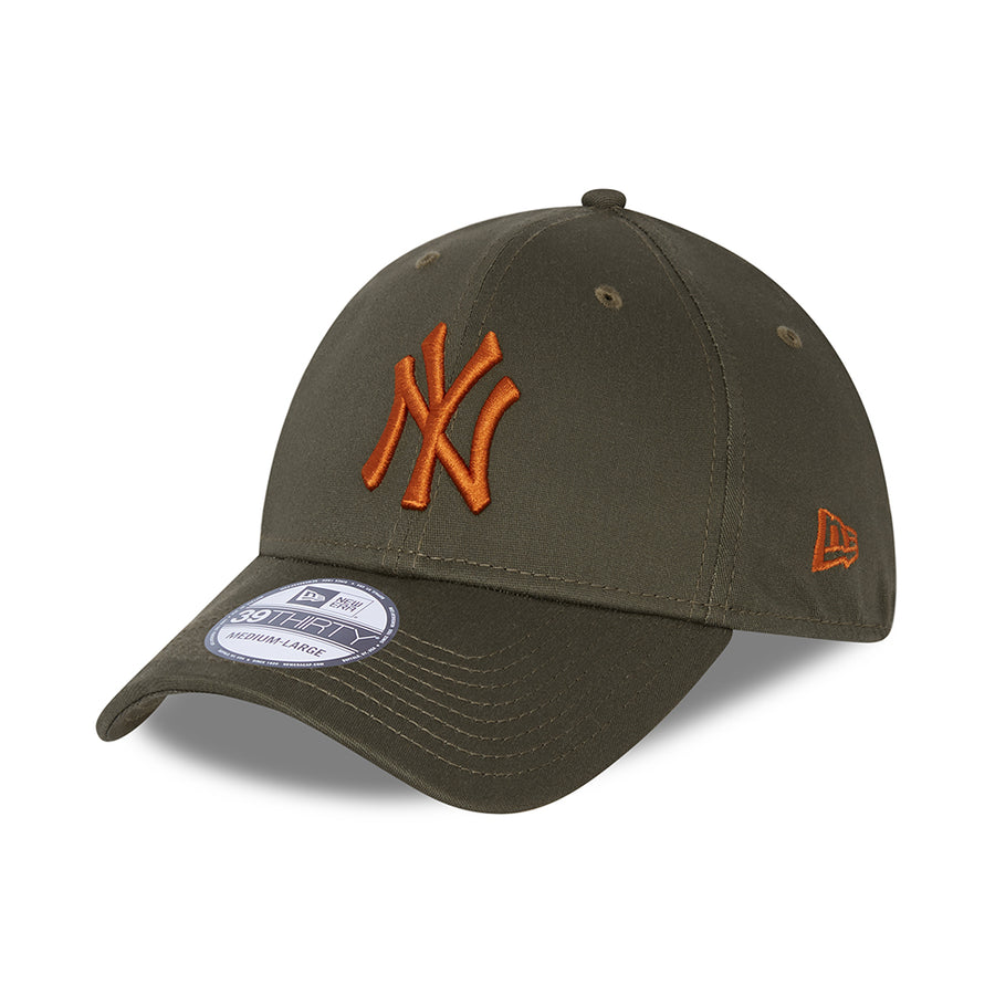New York Yankees 39Thirty League Essential Olive/Red Cap