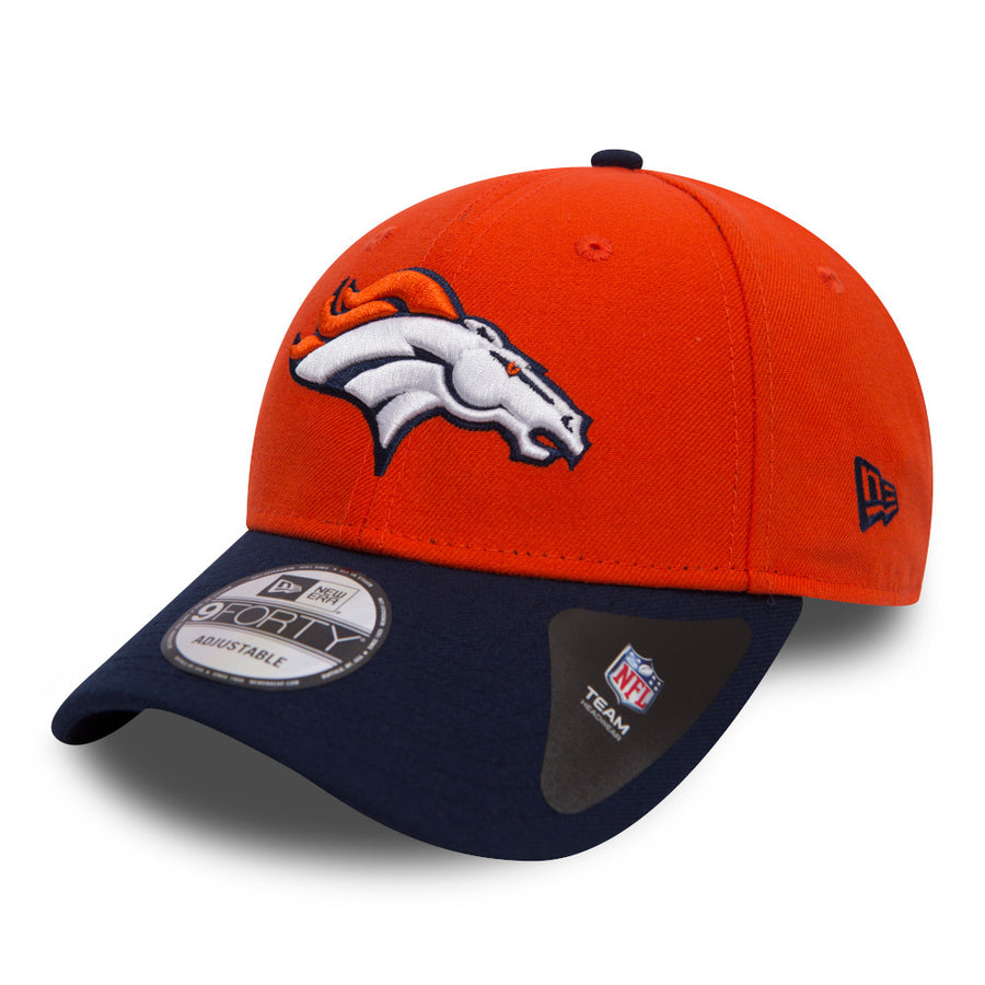 Denver Broncos 9Forty NFL The League Orange/Navy Cap