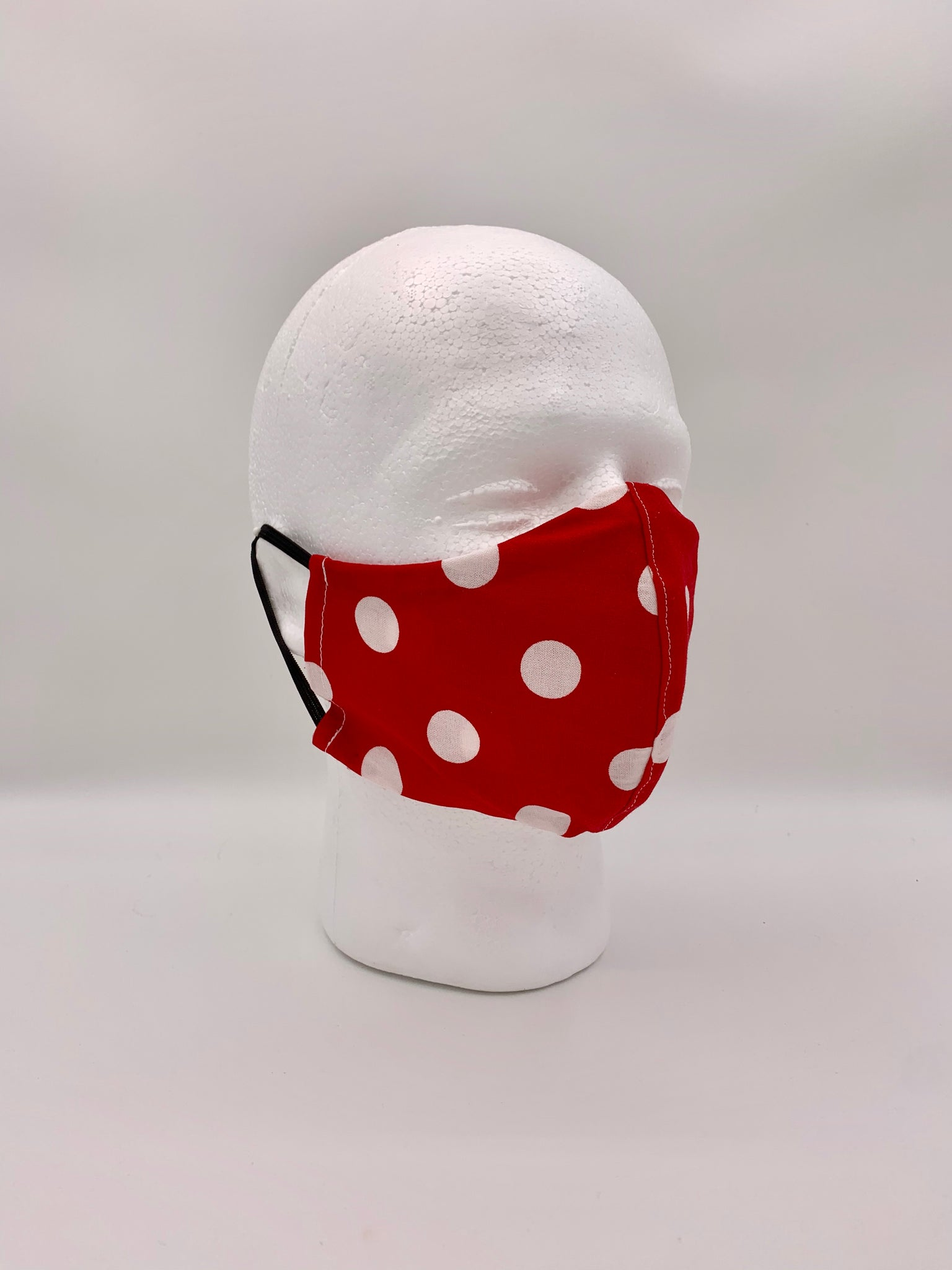 Red Polka Dot Mask