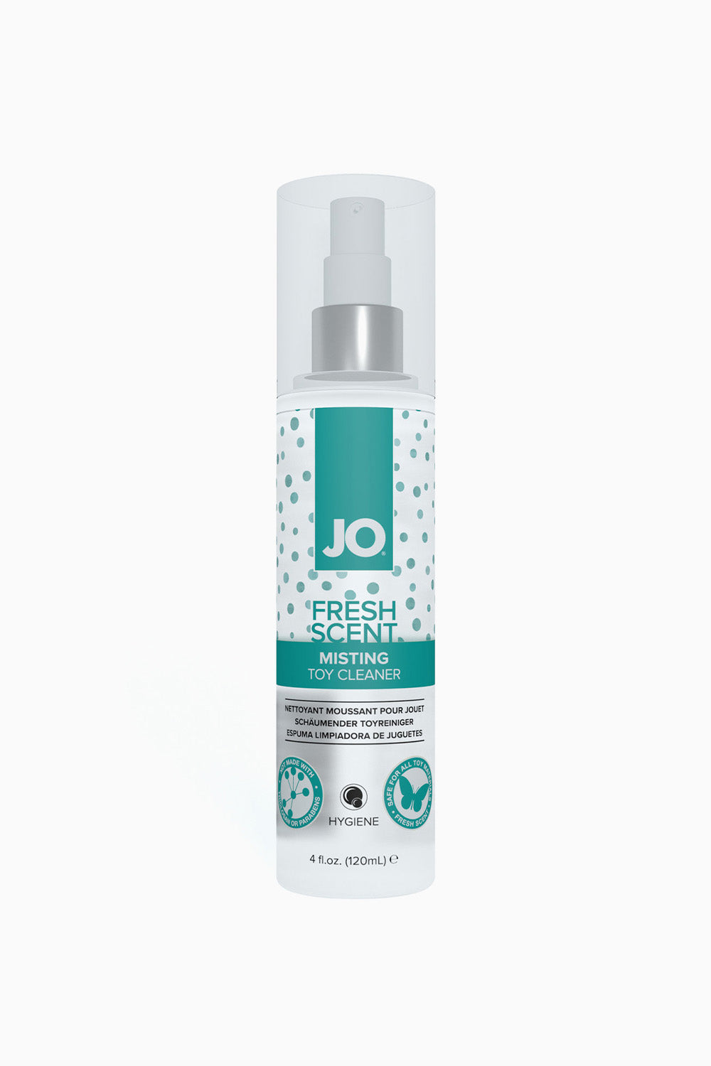 System JO Misting Toy Cleaner Fresh Scent Free Hygiene 120 ml