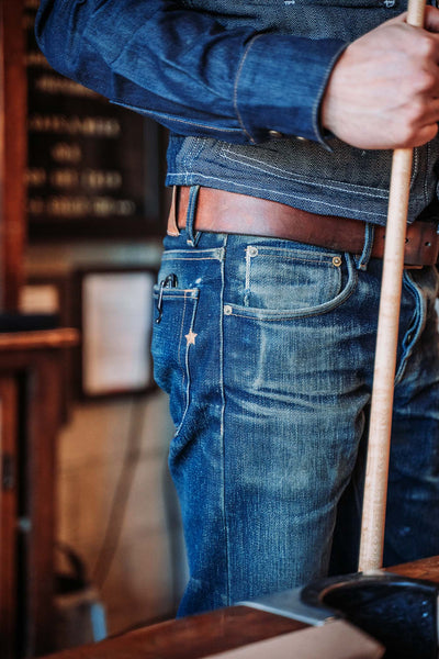 super heavyweight japanese selvedge denim jeans made in the usa