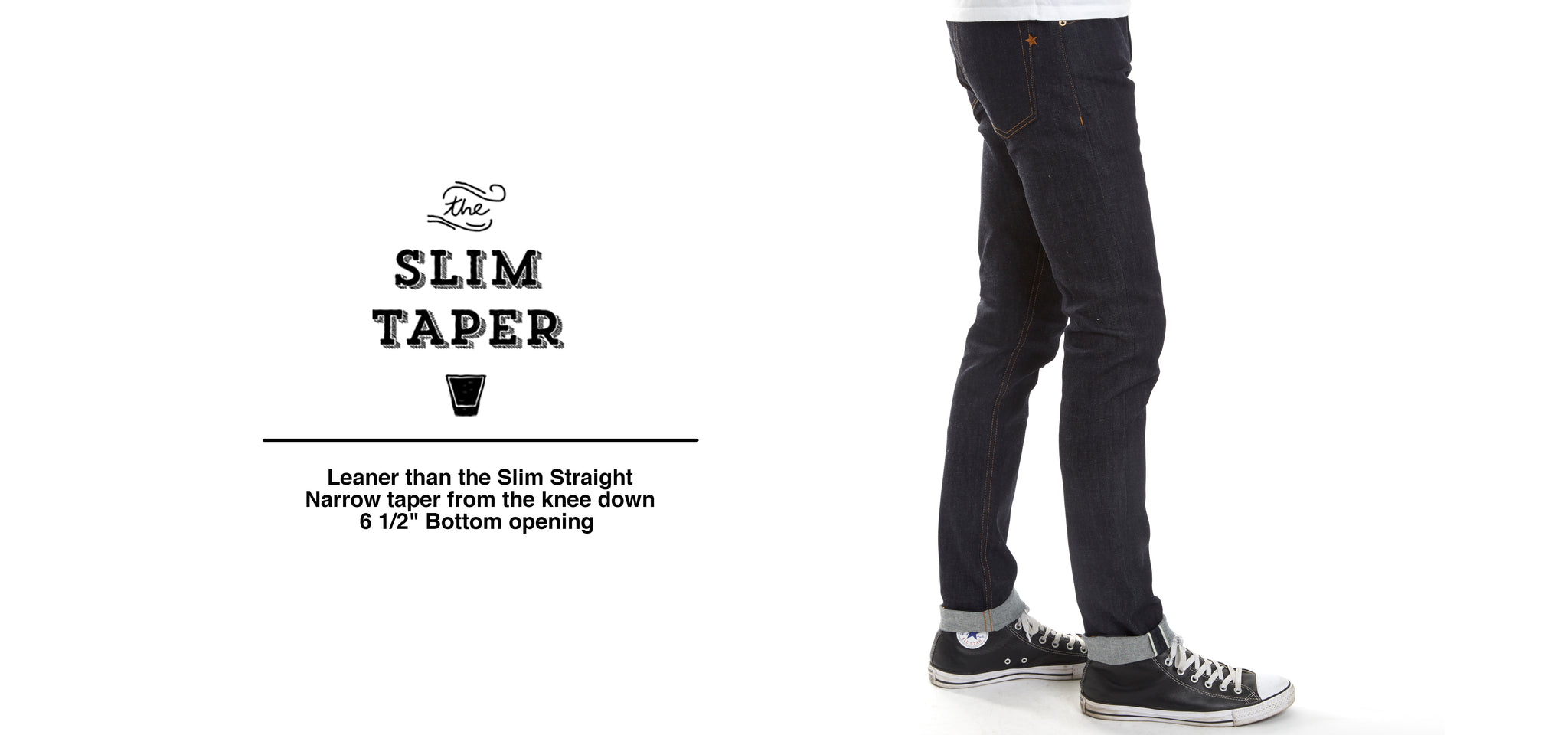 Heavyweight Selvedge Denim Cone Mills Made in the USA