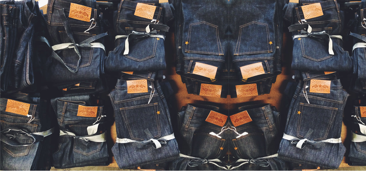 Heavyweight Selvedge Denim Made In USA JAPAN SELVEDGE