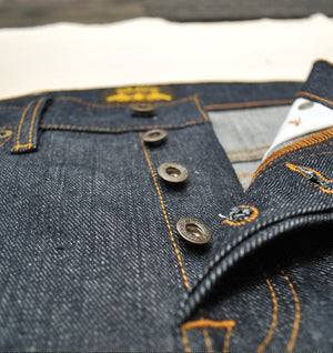 Tapered 16.5oz Heavyweight Cone Mills Selvedge Denim