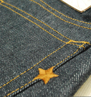 The True Straight 14oz 'Homespun Yarn' Cone Stretch Selvage
