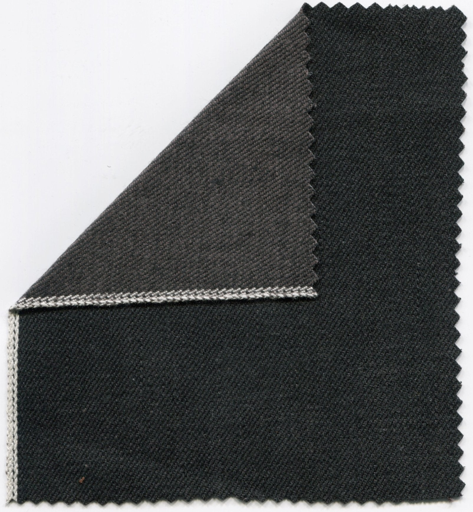 The Slim Taper 15oz 'Black Metal' Japan Selvage Denim