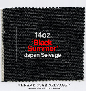 The Slim Straight 14oz 'Black Summer' Japan Selvage Pre Order
